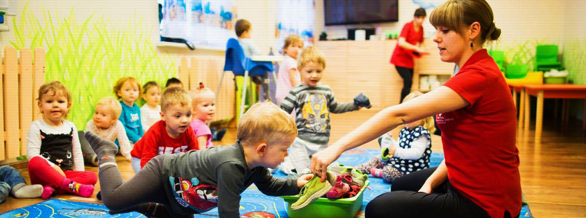 Otaczamy profesjonalną opieką dzieci w wieku od roku do trzech lat